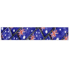 Australian Flag Urban Grunge Pattern Flano Scarf (large) by dflcprintsclothing