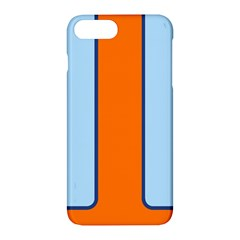 Gulf No Logo Apple Iphone 7 Plus Hardshell Case by PocketRacers