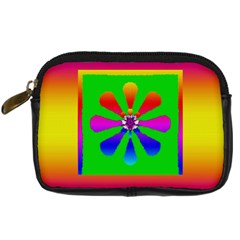 Flower Mosaic Digital Camera Cases by pepitasart