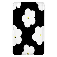 April Fun Pop Floral Flower Black White Yellow Rose Samsung Galaxy Tab Pro 8 4 Hardshell Case by Jojostore