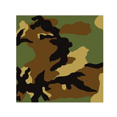 Army Camouflage Small Satin Scarf (square) by Jojostore