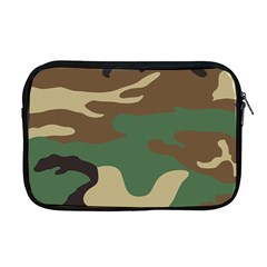Army Shirt Green Brown Grey Black Apple Macbook Pro 17  Zipper Case
