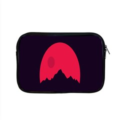Awesome Photos Collection Minimalist Moon Night Red Sun Apple Macbook Pro 15  Zipper Case