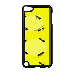 Ant Yellow Circle Apple Ipod Touch 5 Case (black) by Jojostore