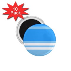 Blue Horizon Graphic Simplified Version 1 75  Magnets (10 Pack)  by Jojostore