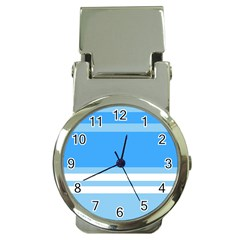 Blue Horizon Graphic Simplified Version Money Clip Watches