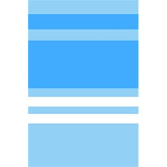 Blue Horizon Graphic Simplified Version 5 5  X 8 5  Notebooks by Jojostore