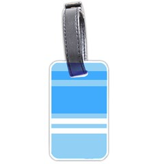 Blue Horizon Graphic Simplified Version Luggage Tags (two Sides) by Jojostore