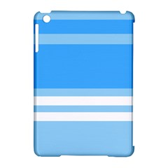 Blue Horizon Graphic Simplified Version Apple Ipad Mini Hardshell Case (compatible With Smart Cover) by Jojostore