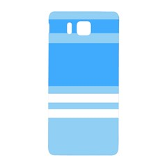 Blue Horizon Graphic Simplified Version Samsung Galaxy Alpha Hardshell Back Case