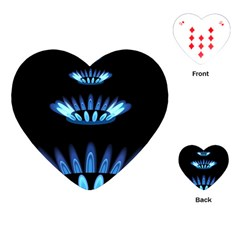 Blue Flame Playing Cards (heart)