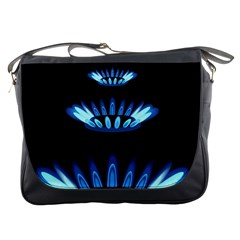 Blue Flame Messenger Bags