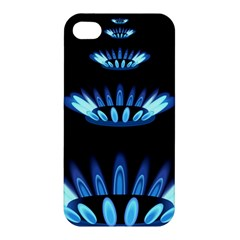 Blue Flame Apple Iphone 4/4s Premium Hardshell Case