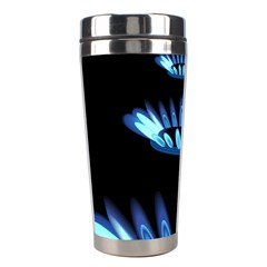 Blue Flame Stainless Steel Travel Tumblers