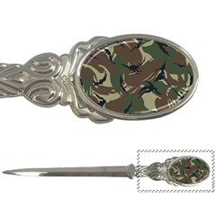 Army Shirt Grey Green Blue Letter Openers