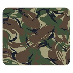 Army Shirt Grey Green Blue Double Sided Flano Blanket (small)