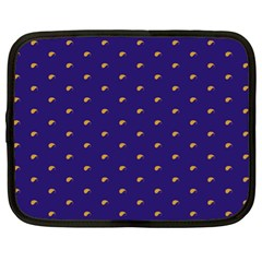 Blue Yellow Sign Netbook Case (xl)  by Jojostore