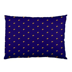 Blue Yellow Sign Pillow Case (two Sides)