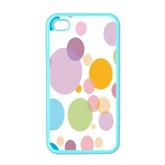 Bubble Water Yellow Blue Green Orange Pink Circle Apple Iphone 4 Case (color) by Jojostore