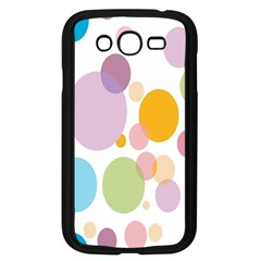 Bubble Water Yellow Blue Green Orange Pink Circle Samsung Galaxy Grand Duos I9082 Case (black) by Jojostore