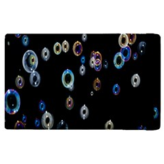 Bubble Light Black Apple Ipad 3/4 Flip Case by Jojostore