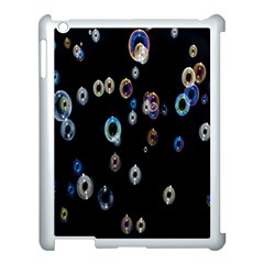 Bubble Light Black Apple Ipad 3/4 Case (white)