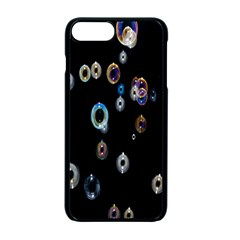 Bubble Light Black Apple Iphone 7 Plus Seamless Case (black)