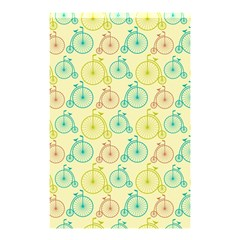 Wheel Bike Round Sport Color Yellow Blue Green Red Pink Shower Curtain 48  X 72  (small)  by Jojostore
