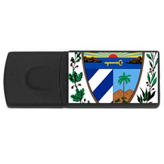 Coat Of Arms Of Cuba Usb Flash Drive Rectangular (4 Gb)