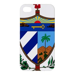 Coat Of Arms Of Cuba Apple Iphone 4/4s Premium Hardshell Case by abbeyz71