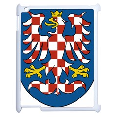 Moravia Coat Of Arms  Apple Ipad 2 Case (white) by abbeyz71