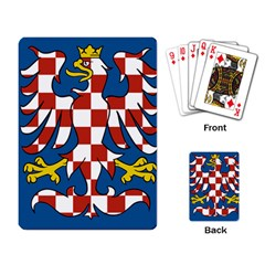 Flag Of Moravia Playing Card