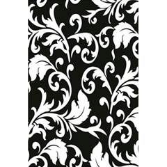 Clasic Floral Flower Black 5 5  X 8 5  Notebooks by Jojostore