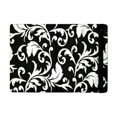 Clasic Floral Flower Black Ipad Mini 2 Flip Cases