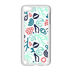 Coral Leaf Flower Sea Apple Ipod Touch 5 Case (white) by Jojostore