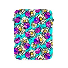 Bunga Matahari Serangga Flower Floral Animals Purple Yellow Blue Pink Apple Ipad 2/3/4 Protective Soft Cases by Jojostore