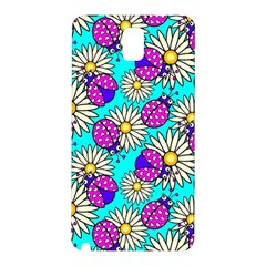 Bunga Matahari Serangga Flower Floral Animals Purple Yellow Blue Pink Samsung Galaxy Note 3 N9005 Hardshell Back Case by Jojostore