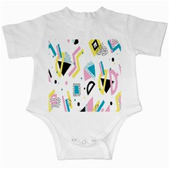 Design Elements Illustrator Elements Vasare Creative Scribble Blobs Yellow Pink Blue Infant Creepers