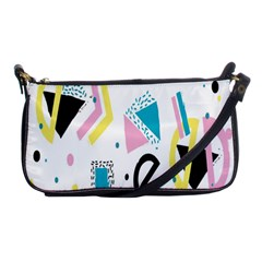 Design Elements Illustrator Elements Vasare Creative Scribble Blobs Yellow Pink Blue Shoulder Clutch Bags by Jojostore