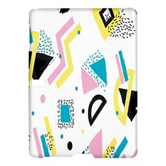 Design Elements Illustrator Elements Vasare Creative Scribble Blobs Yellow Pink Blue Samsung Galaxy Tab S (10 5 ) Hardshell Case  by Jojostore