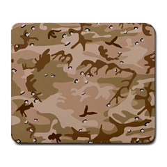 Desert Camo Gulf War Style Grey Brown Army Large Mousepads