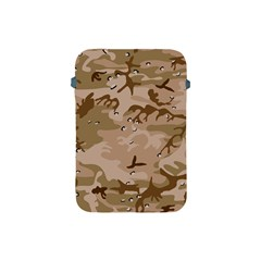 Desert Camo Gulf War Style Grey Brown Army Apple Ipad Mini Protective Soft Cases