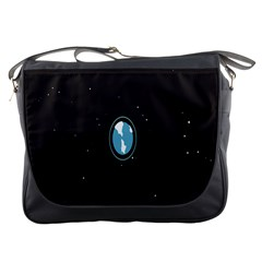 Earth Universe Natural Space Galaxy Messenger Bags