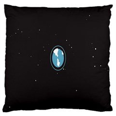 Earth Universe Natural Space Galaxy Large Cushion Case (two Sides) by Jojostore