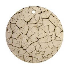 Drought Soil Land Ornament (round)