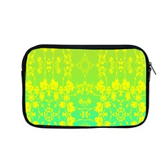 Floral Flower Leaf Yellow Blue Apple Macbook Pro 13  Zipper Case by Jojostore