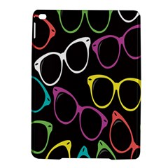 Glasses Color Pink Mpurple Green Yellow Blue Rainbow Black Ipad Air 2 Hardshell Cases by Jojostore