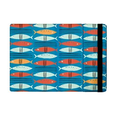 Go Fish  Fishing Animals Sea Water Beach Red Blue Orange Grey Ipad Mini 2 Flip Cases