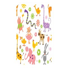 Kids Animal Giraffe Elephant Cows Horse Pigs Chicken Snake Cat Rabbits Duck Flower Floral Rainbow Memory Card Reader