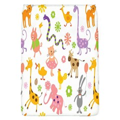 Kids Animal Giraffe Elephant Cows Horse Pigs Chicken Snake Cat Rabbits Duck Flower Floral Rainbow Flap Covers (l)